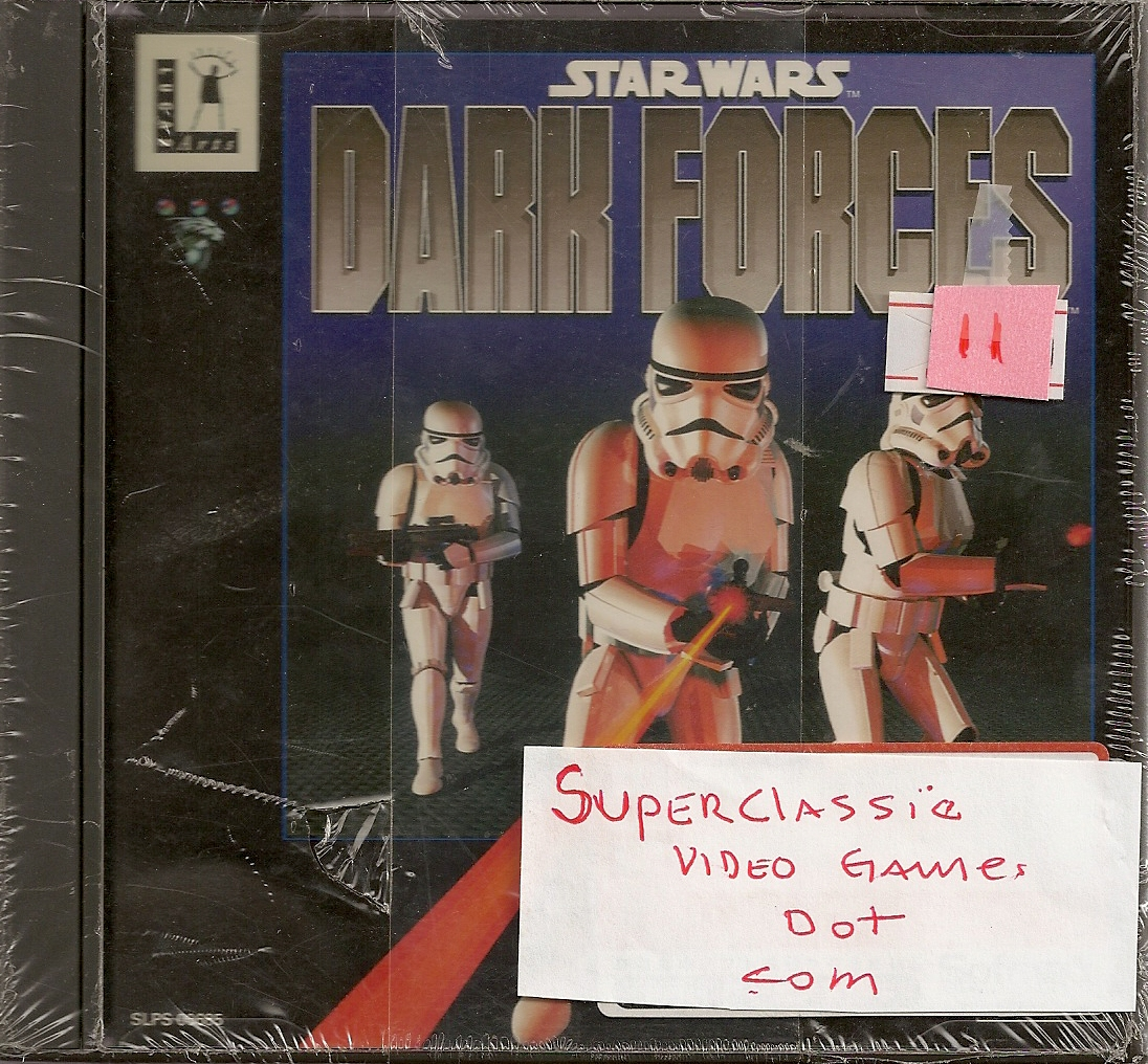 PLAYSTATION 1 STARWARS DARK FORCES SLPS-06885
