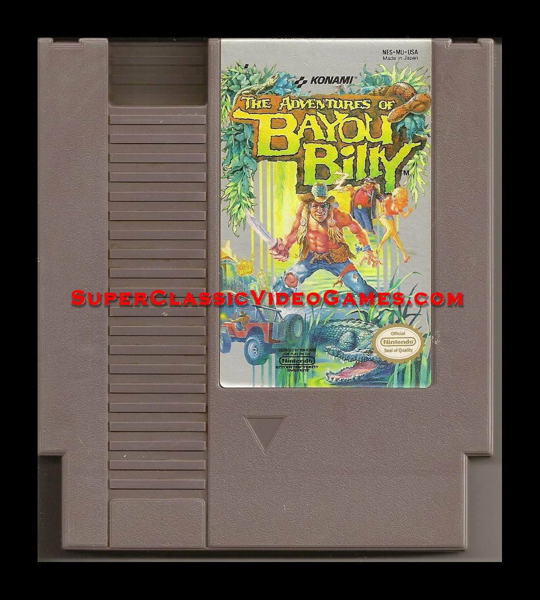 Nintendo Nes Adventures Of Bayou Billy Cartridge