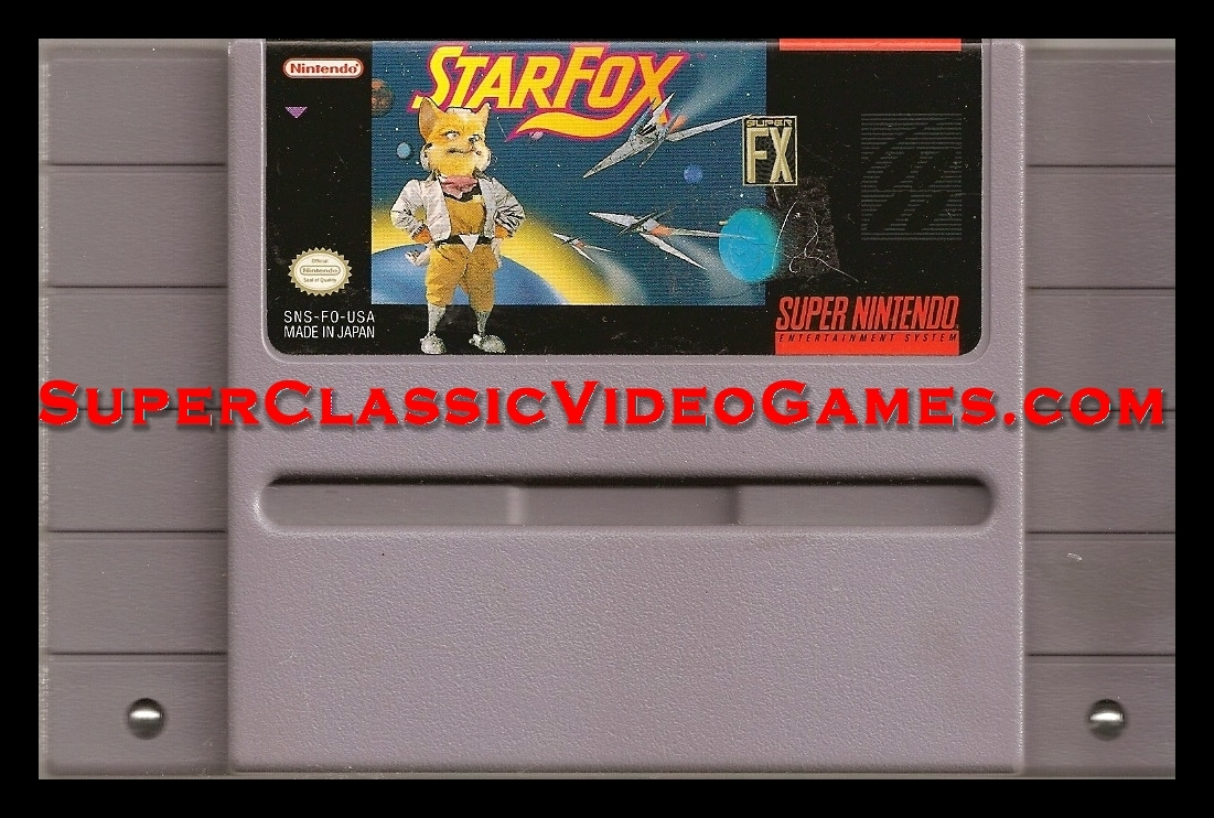 starfox snes cart