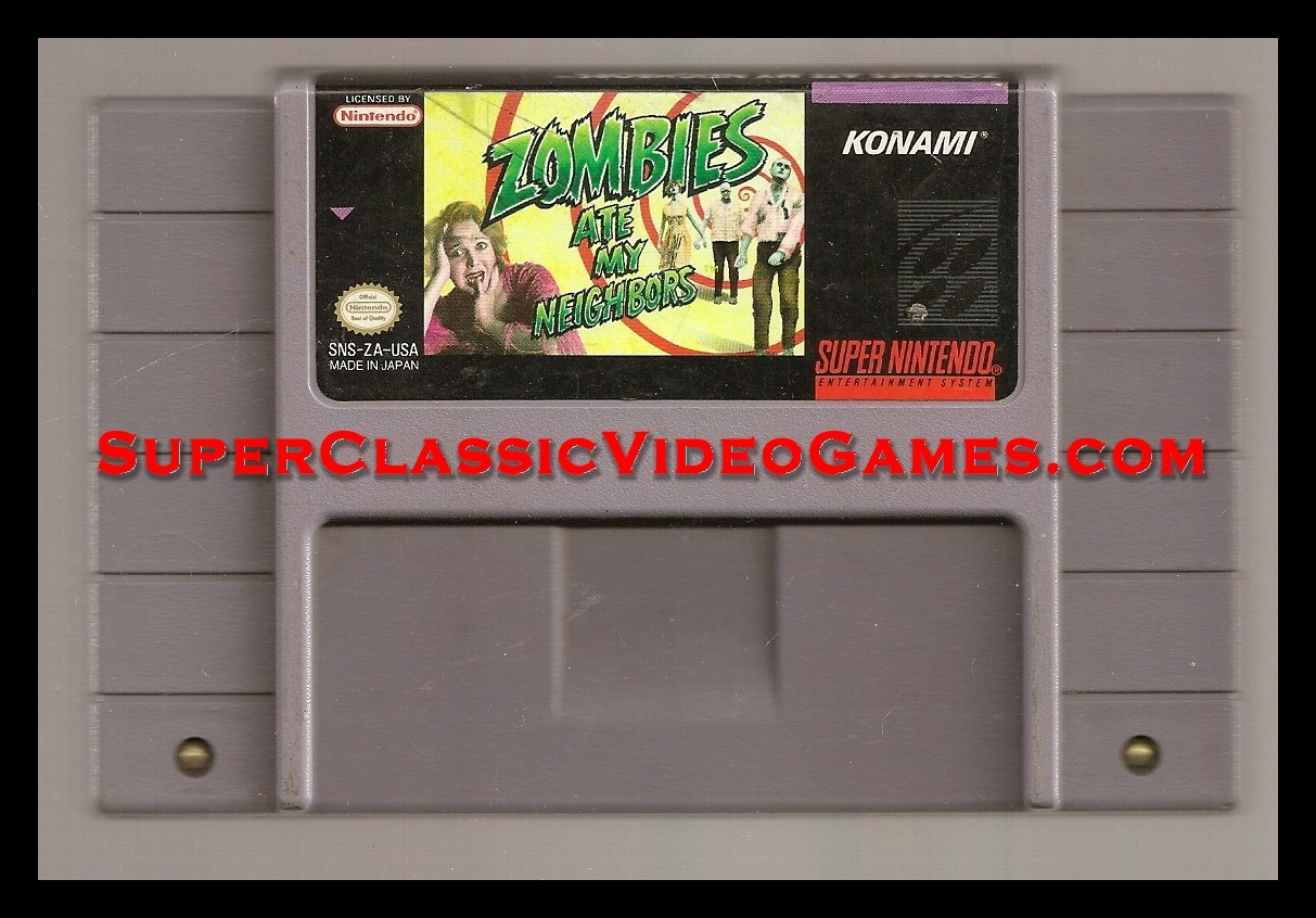 Zombies ate my neighbors cartridge for sale