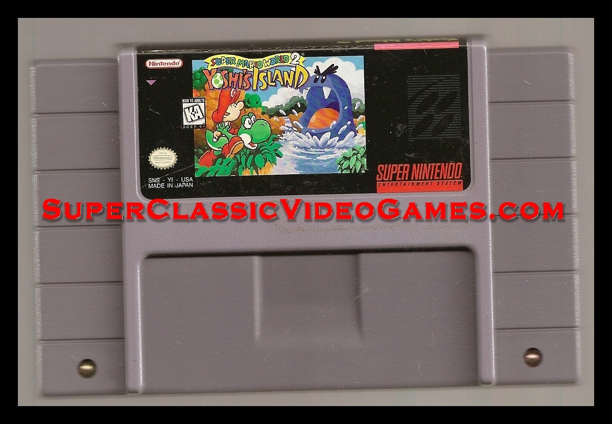 SUPER MARIO WORLD 2 CARTRIDGE FOR SALE.