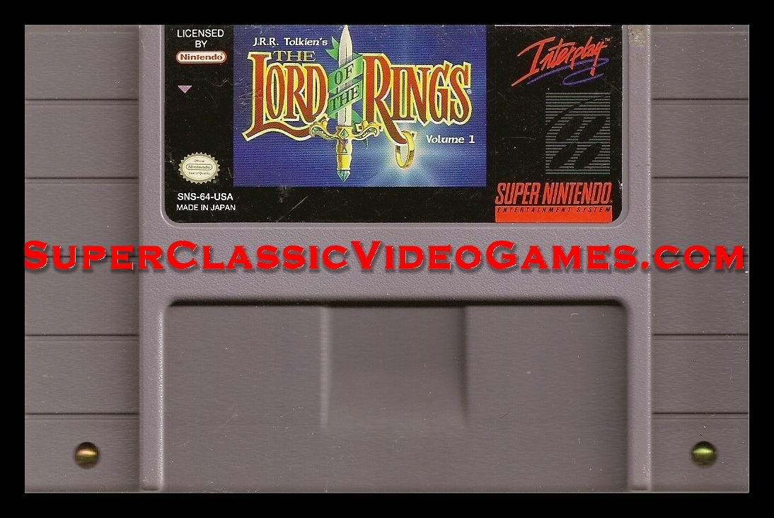 Jr Tolkiens Lord of the Rings cartridge for sale.