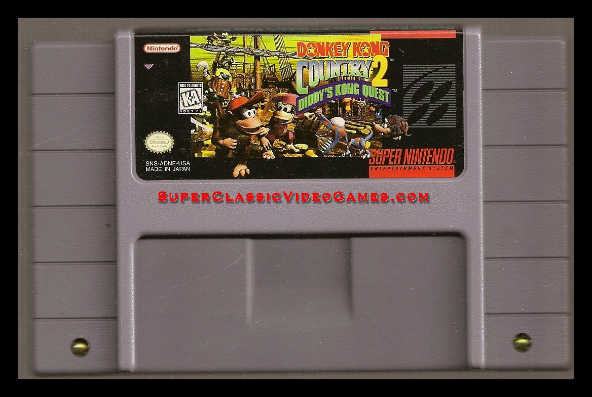 DONKEY KONG COUNTRY 2 DIDDY QUEST
