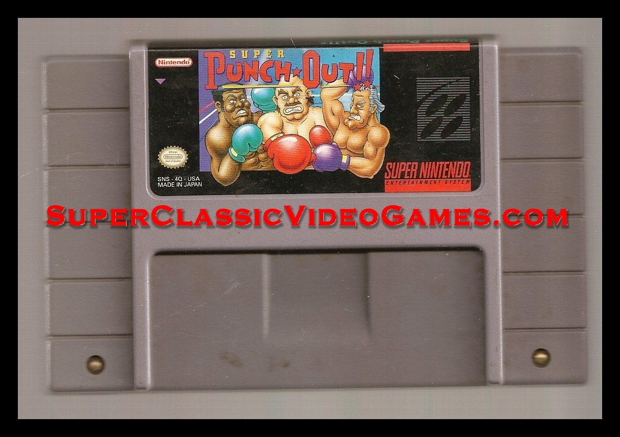 Super Punch out! cartridge for sale
